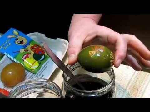 Jak pomalować jajka wielkanocne