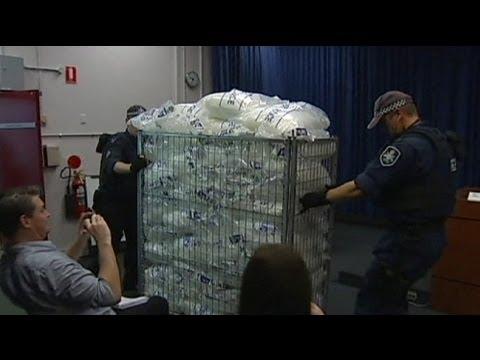 La Policía australilana decomisa 585 kilos de metanfetamina