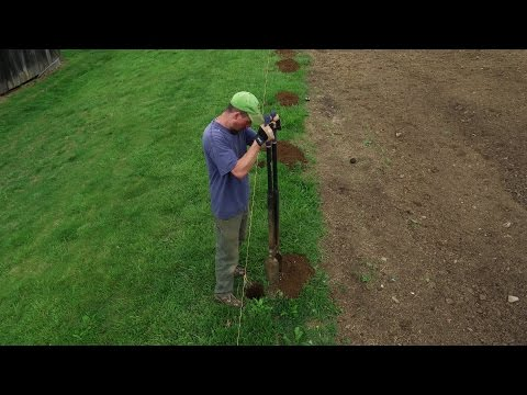 How Long Does It Take To Install 8 Fence Posts - By Hand?