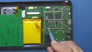 Ремонт навигатора Treelogic TL-7003GF от нашего подписчика.