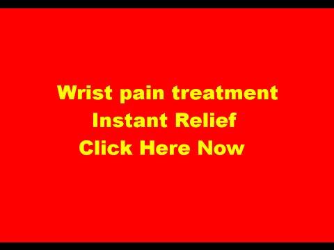 Wrist pain treatment: Dr Tan Balance Method Acupuncture to treat/instant relief wrist pain, Hamilton