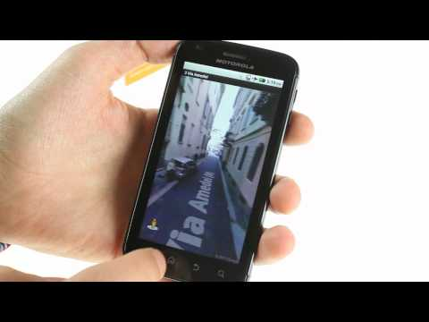 Motorola Atrix 4G unboxing and UI demo