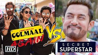 Is Aamir NERVOUS - 'Secret Superstar' CLASHES with  'Golmaal Again' - BOLLYWOODCOUNTRY