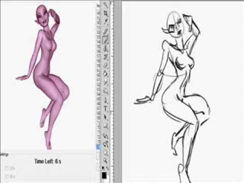 Drawing 8 Poses (90sec)