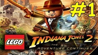 Lego Indiana Jones 2 Walkthrough Kingdom Of The Crystal Skull Part 1 Hangar Havoc