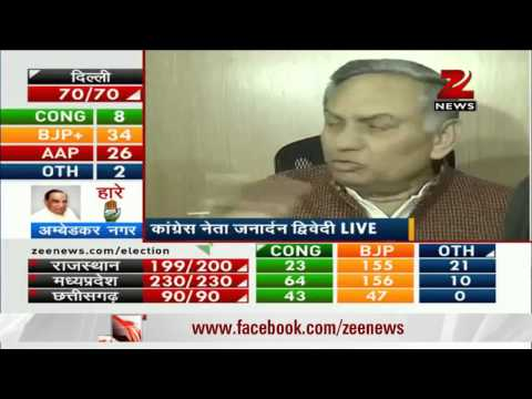 AAP's performance in Delhi polls a positive development: Janardan Dwivedi