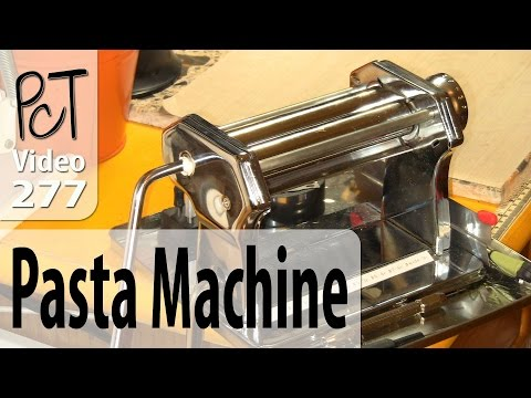 Polymer Clay Pasta Machine Station - Studio Organization Tips