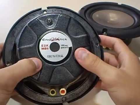Review Alto Falante Bravox E2K MB6 Polegadas