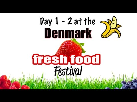 Day 1 - 2 Denmark Fresh Food Festival, Banana Commander Vision..