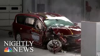 New Crash Safety Test Raises Concerns About Toyota Sienna | NBC Nightly News - NBCNEWS