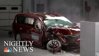 New Crash Safety Test Raises Concerns About Toyota Sienna | NBC Nightly News - NBCNEWS