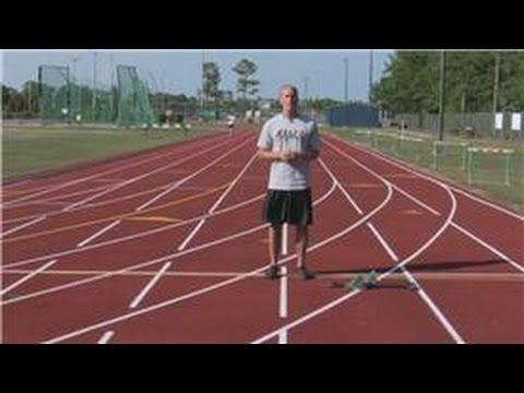 Track Running Tips : Basics of Using Starting Blocks