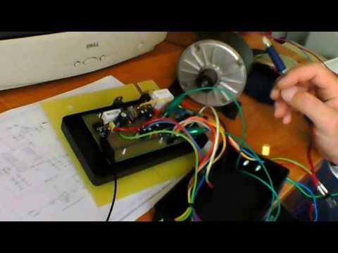 Kontroler Napędu Prądu Stałego (do napędu deskorolki elektrycznej)  (DC Motor Controller)