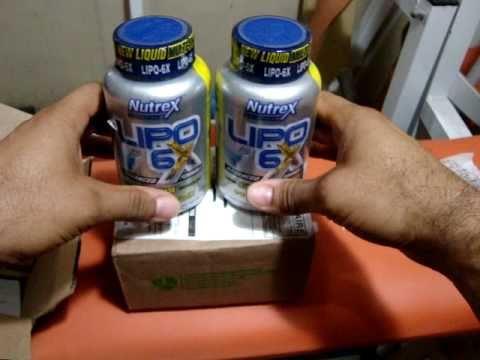 Unboxing - Lipo 6X Nutrex  120 CAPS , www.iherb.com