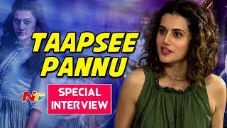 Taapsee Pannu Special Interview || #AnandoBrahma || Off Screen || NTV - NTVTELUGUHD