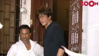 Shah Rukh Khan spotted at Shankar Mahadevan's Dubbing Studio - ZOOMDEKHO