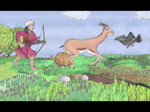 Kalila wa Dimna: Fables Across Time: The Story of the 4 Friends (English)