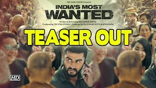 India's Most Wanted | Arjun Kapoor on hunt for India's Osama | TEASER OUT - IANSINDIA