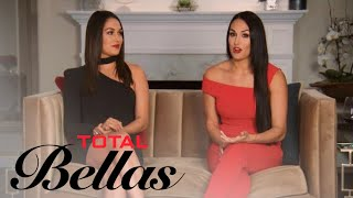 Brie Bella Feels 'Bad' Nikki Is Wedding Planning Without John Cena | Total Bellas | E! - EENTERTAINMENT