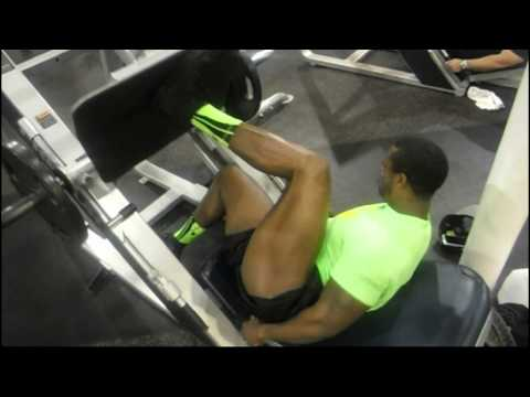 KRB Trains legs With Charles 2 Weeks out From The Ronnie