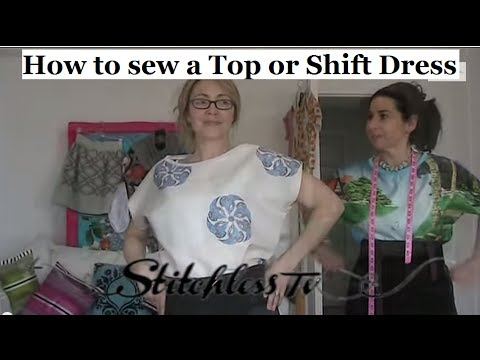 HOW TO SEW A T-SHIRT FOR BEGINNERS - SEWING TUTORIAL