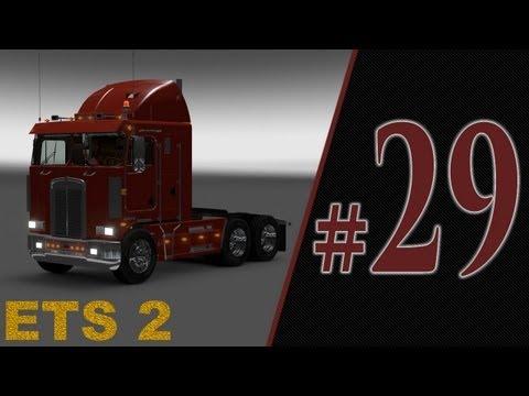 ETS 2 - moja modyfikacja - układ biegów wzorowany na skrzyni Eaton Fuller 13 biegów + Kenworth K100.