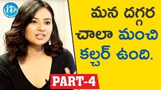 Actress & Social Activist Isha chawla Interview Part #4 || Face To Face With iDream Nagesh - IDREAMMOVIES