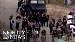 3 Police Officers Shot In Houston While Serving Warrant | NBC Nightly News - NBCNEWS