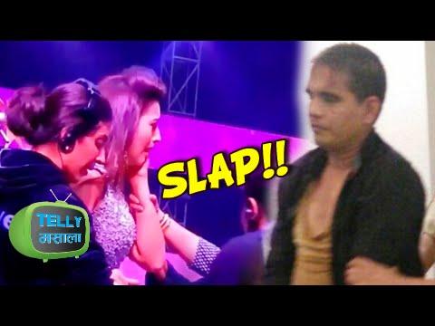 Gauhar Khan Gets Slapped | India's Raw Star Grand Finale | Star Plus Show
