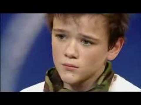 George Sampson winner of bgt 2008.