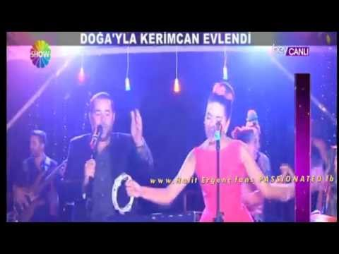 Halit Ergenc IS DANCING !!!!.... Doga's wedding 3.9.2014