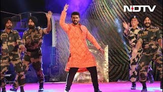 Jai Jawan with Arjun Kapoor: Kabaddi, anyone? - NDTVINDIA
