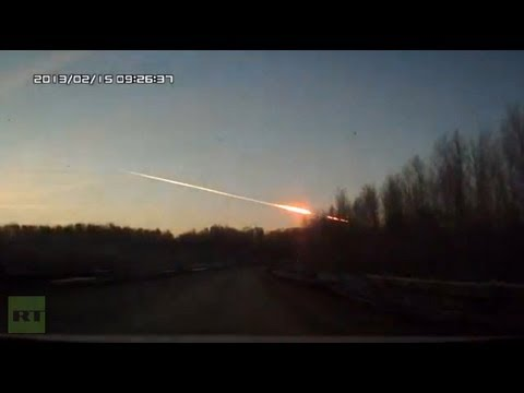 Cay un meteorito en los Montes Urales, en Rusia
