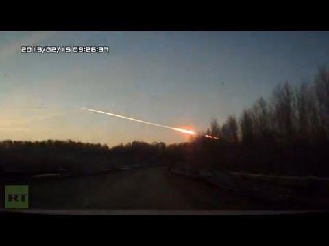 Cayó un meteorito en los Montes Urales, en Rusia