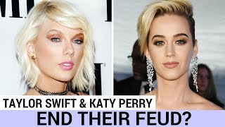 Will Katy Perry & Taylor Swift End Their Feud At The VMAs?! - HOLLYWIRETV