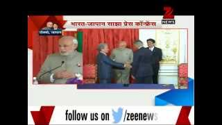 Modi, Abe sign 'Special Strategic Global Partnership' pact - ZEENEWS