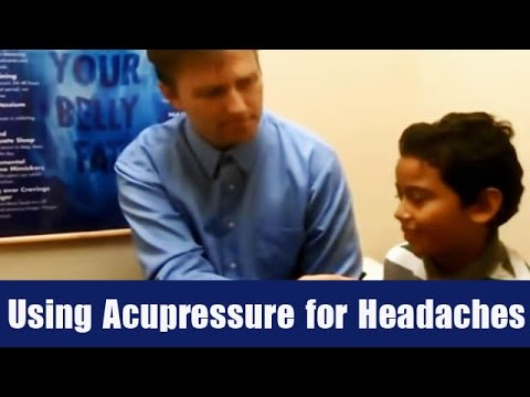 Using Acupressure for Headaches