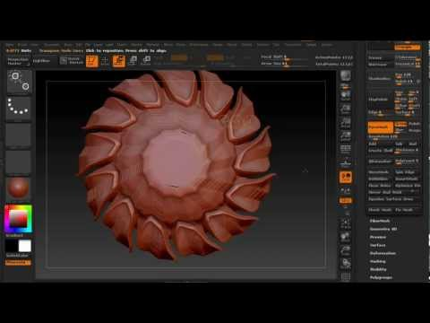 Dynamesh Tooltip: Episode 4 ~ Insert Brush and Radial Commands