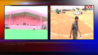 All Set For KCR's Public Meeting In Nalgonda | TRS Praja Ashirvada Sabha | CVR News - CVRNEWSOFFICIAL