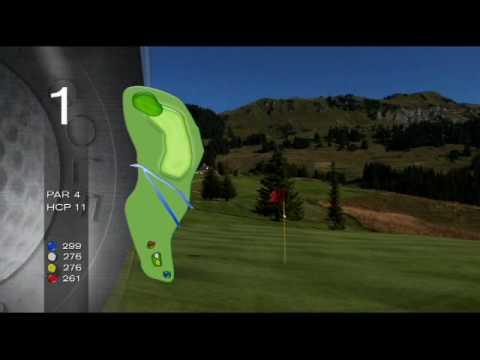 Играем в гольф на самых лучших Альпийских полях