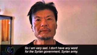 Husband of Japanese journalist killed in Syria recounts her death view on youtube.com tube online.