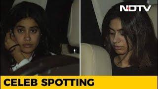 Celeb Spotting: Janhvi & Khushi Kapoor, Arjun Rampal And Others - NDTV