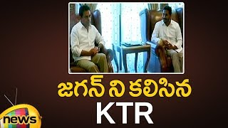 KTR Meets YS Jagan at Lotus Pond | Federal Front | TRS Vs YSRCP | KCR | Mango News - MANGONEWS