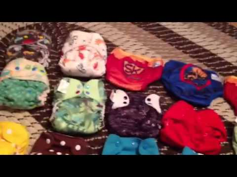 Cloth diaper haul!!!