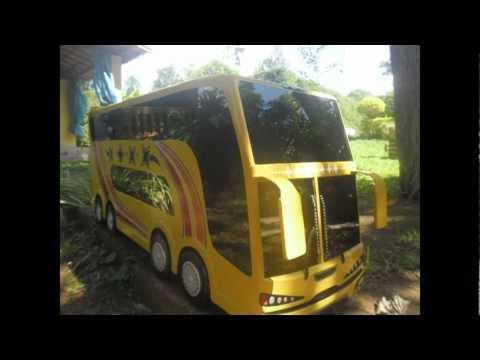 processo de fabricação do ônibus