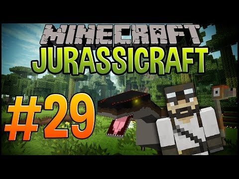 Minecraft Dinosaurs (Jurassicraft) | Let's Play #29 | The Metal Hole Of Science.