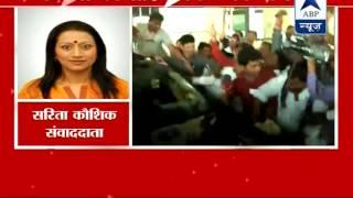 An SMS initiative by supporters demanding Gadkari as Next CM of Maharashtra - ABPNEWSTV