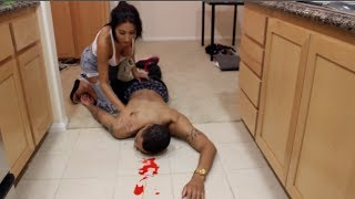 بالفيديو.. 3 ملايين مشاهدة لرد فعل فتاة أصيب صديقها بطلق نارى فى الرأس