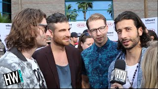 Magic! Spills Details On Upcoming Tour With Maroon 5! (BILLBOARD 2015) - HOLLYWIRETV