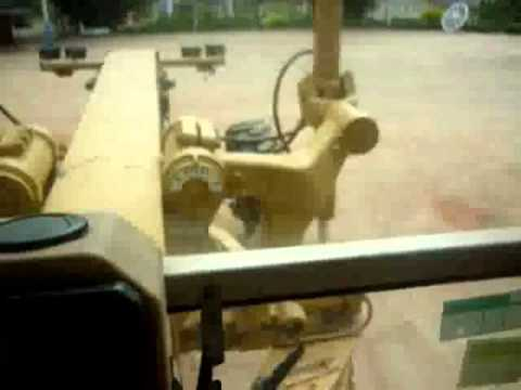 Video aula como operar uma  patrol caterpillar